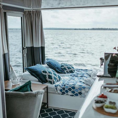 Unusual hotel Maldives-style in Poland on the Baltic Sea