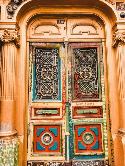 входная дверь Риволи 59 Париж