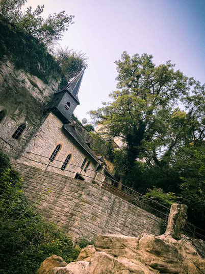 St Ulric chapel in Luxembourg City