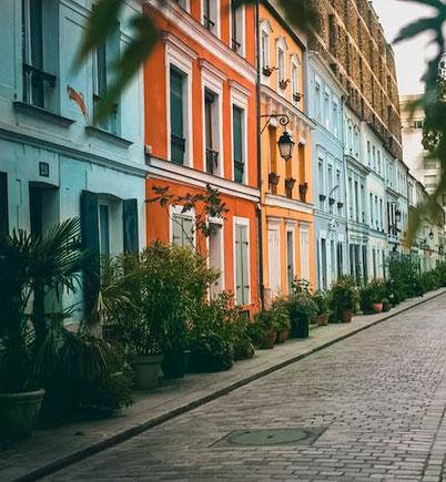нетуристический Париж - мало известная улочка Кремье