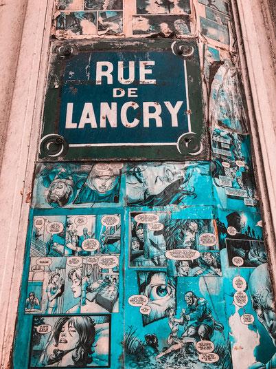 Канал Сен мартен в Париже: приходите сюда за стрит артом