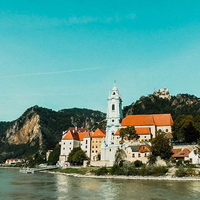 picturesque towns in the Wachau Valley in Austria