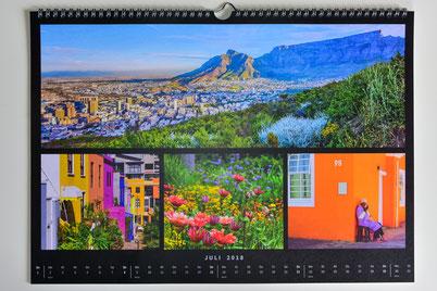 """Beispiel Monatsansicht Kalender """"Collage"""""""