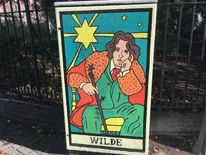 Oscar Wilde from Dublin