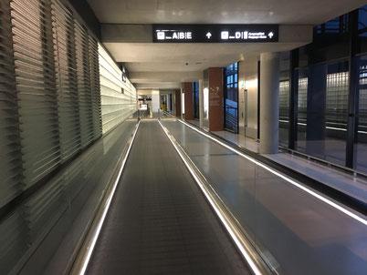 Hallway airport Zurich