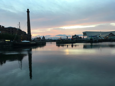 Liverpool old harbour