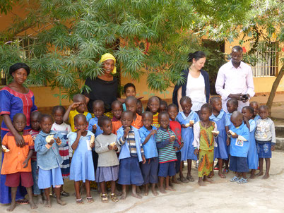 Fieldtrip at Batakunku Kindergarden.