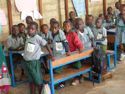 Fieldtrip im Batakunku Primary School.
