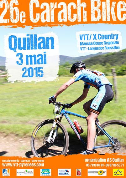 Carach Bike VTT - Affiche 2015