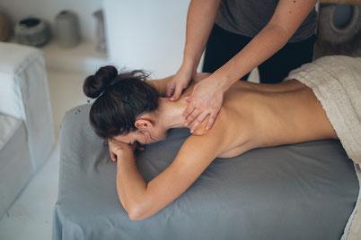 Yoga mit Konzept