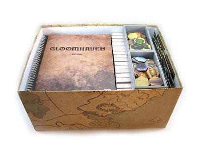 gloomhaven insert organizer board game foamcore
