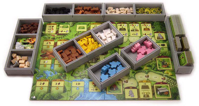 folded space insert organizer Agricola Family