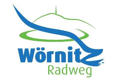 Radwegweisung Limesradweg und Wörnitzradweg