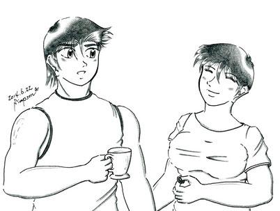 ケンジとマユミ(海棠兄妹)