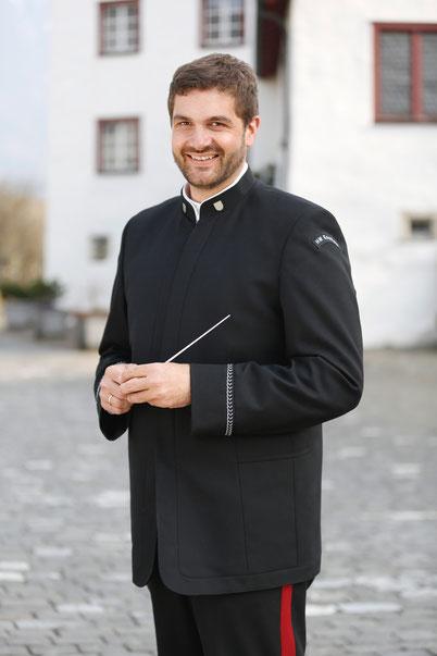 René Mathis Dirigent der Harmoniemusik Eschen