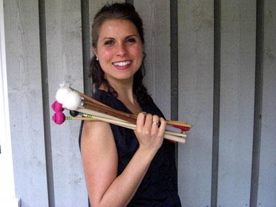 Anna-Maria Schuchter - Dirigentin des JEE und der JHE Eschen