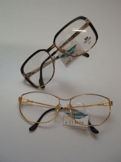 フランス製&ドイツ製眼鏡