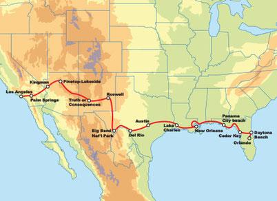 selbstgeführte Touren USA