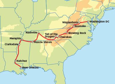 Eaglerider, Motorradreisen USA