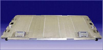 """Slipper"" genanntes Container Interface Kit (CAIK) aus rührreibgeschweißten Aluminium-Strangpressprofilen"