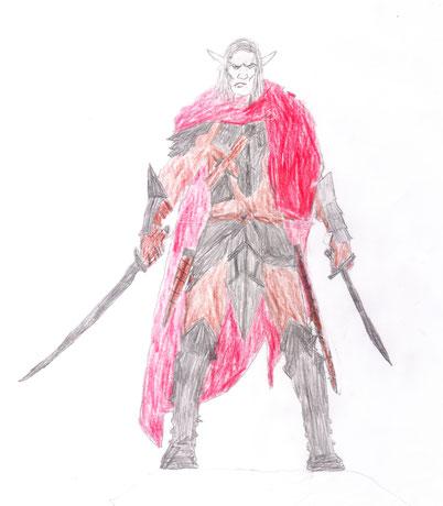 Maanelf Ridder door Ties Molkenboer
