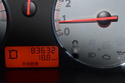 この日、最高燃費を更新!