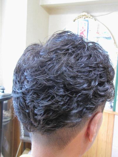 80 % ドライ 整髪料なし!