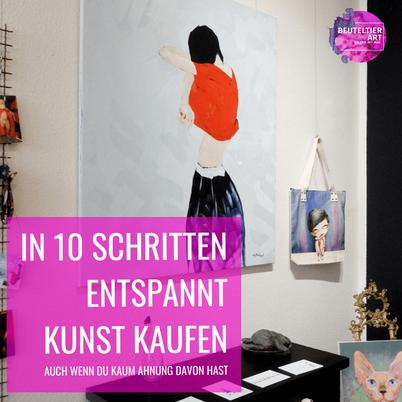 In 10 Schritten Kunst kaufen Tipps