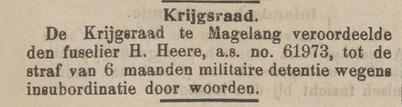 Het nieuws van den dag voor Nederlandsch-Indië 18-01-1911