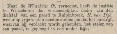Provinciale Drentsche en Asser courant 24-10-1870