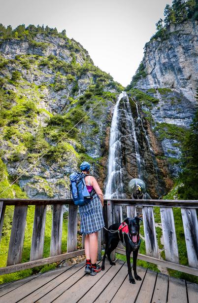 Dalfalzer Wasserfall Rofan Achensee