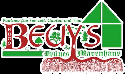 Logo des Grünen Warenhauses Beuys am Niederrhein in Bedburg-Hau.
