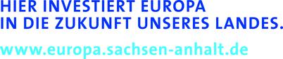Europa investiert sachsen anhalt EFRE