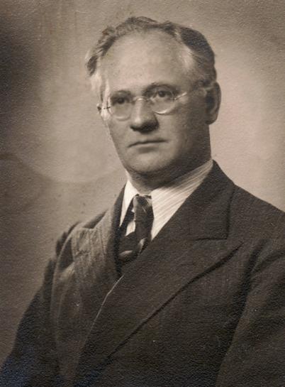 Historische Aufnahme von Hanns Heinen, 1940
