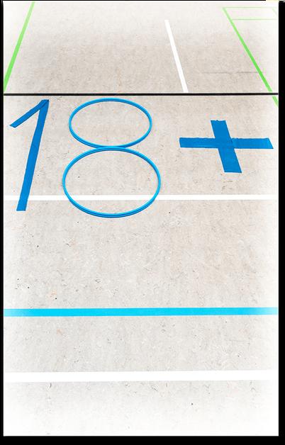 Angebote für Erwachsene: Turnen Badminton Stepp Gymnastik Fitness Seniorenkurse Fußball