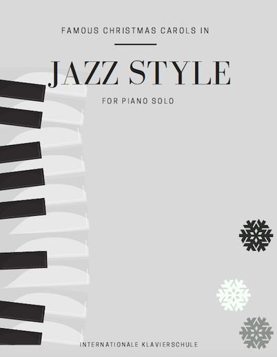 weihnachtslieder klaviernoten im jazzstil klavierschule. Black Bedroom Furniture Sets. Home Design Ideas