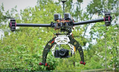 Spécialisé pour la photo ce drone est équipé d'un appareil photo à très haute définition