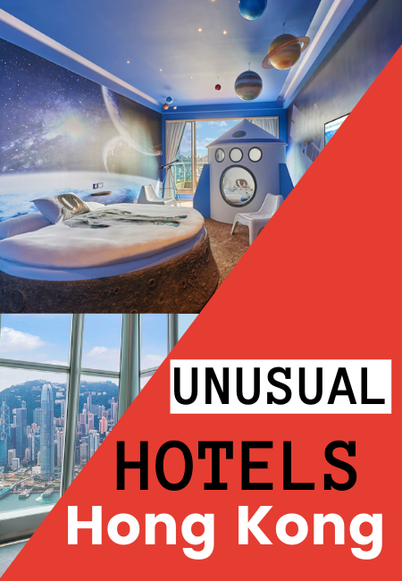 quirky hotels in Hong Kong