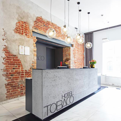 Unusual hotel in Lodz, Poland - hotel in the former tobacco factory