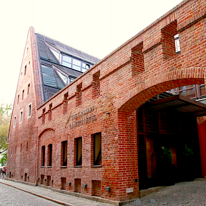 Unusual extraordinary hotel in Wroclaw, Poland in the former granary
