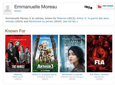 Emmanuelle MOREAU - IMDB