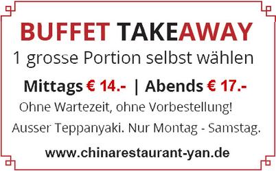 Aktion Buffet Take-Away
