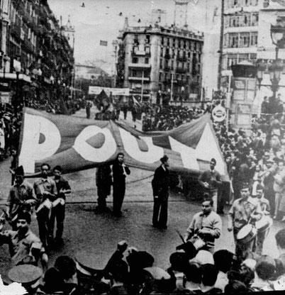 """POUM - """"Arbejderpartiet for marxistisk samling"""""""