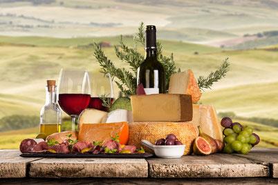 Histaminintoleranz, Käse, Wein und Obst