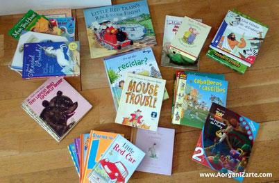 Regala los libros de niños que ya no lean - AorganiZarte
