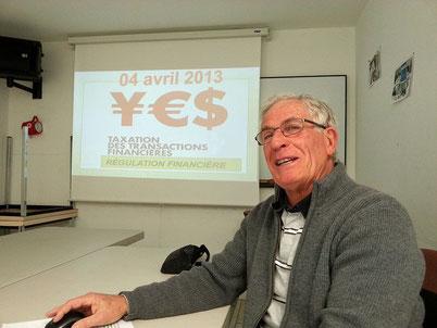 Micro-conférence sur la Taxe Tobin par Daniel Chuillet
