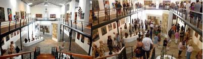 Le Musée avec ses 500 oeuvres sans et avec la foule !!