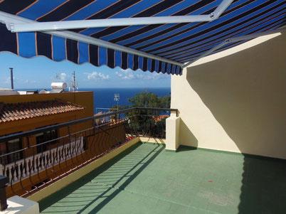 Blick von der 3 Schlafzimmer Wohnung in San Vincente
