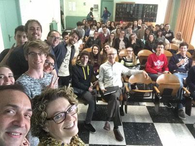 I AM CHORAL: Un'immagine del meeting proposto a Borgosesia, Romagnano Sesia e Varallo Sesia con il patrocinio dell'Università del Missouri (USA)