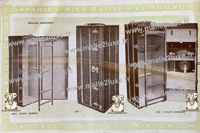 Page 32 - Catalogue Louis Vuitton 1914 - malle armoire